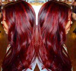 painting hair color 100 badass hair colors auburn cherry copper