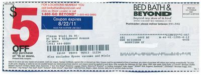 bed bath and beyond registry return policy bed bath and beyond free coupon and shopping guide 5 off