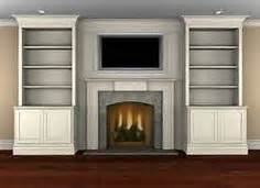 1000 images about bookshelves fireplace on