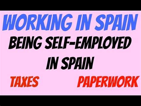 8 Pros Of Being Self Employed by Working In Spain Being Self Employed In Spain