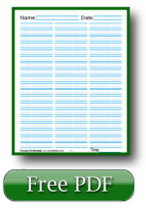 printable lined paper with 3 columns 7 best images of printable lined column paper template