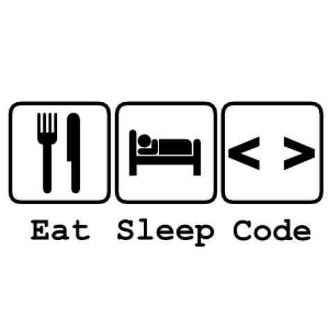 Eat Sleep ooshi the t shirt republic eat sleep code