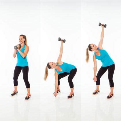 abs workout plan 6 weight exercises to get a six pack shape magazine