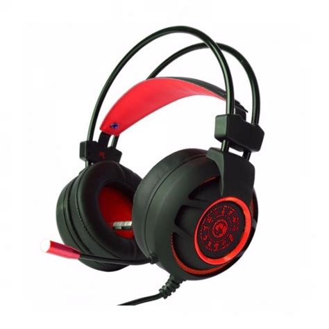 Headset Marvo Marvo Hg9012rd Headset Gaming 7 1 Usb Led