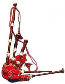 This photo you can see how scottish get dress when they play bagpipes