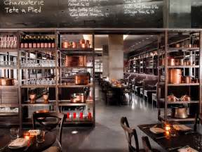 luxury modern restaurant interior design of dbgb kitchen