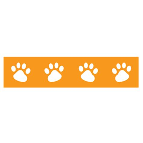 paw print border cliparts.co
