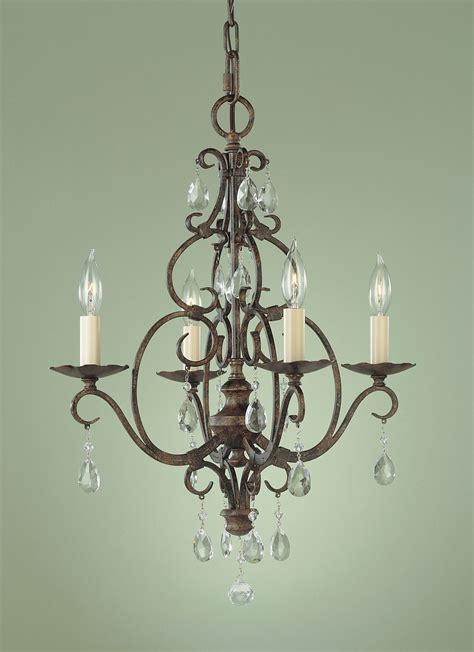 Murray Feiss Chateau Chandelier Murray Feiss F1904 4mbz Chateau Four Light Mini Chandelier
