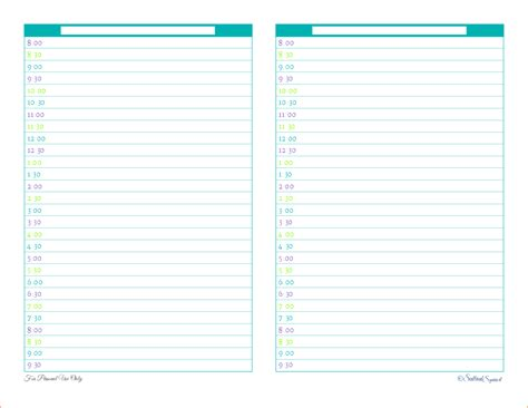 free printable household planner pages printable daily planner sheets bing images