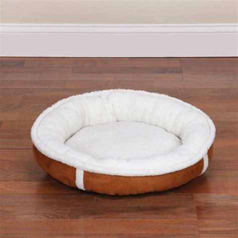 sherpa dog bed sleepy sherpa donut dog bed dog boutique at glamourmutt com