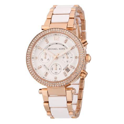 michael kors montre mk5774 femme blanc achat vente montre cdiscount