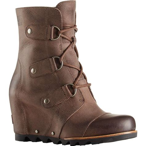 womans sorel boots sorel s joan of arctic wedge mid boot moosejaw