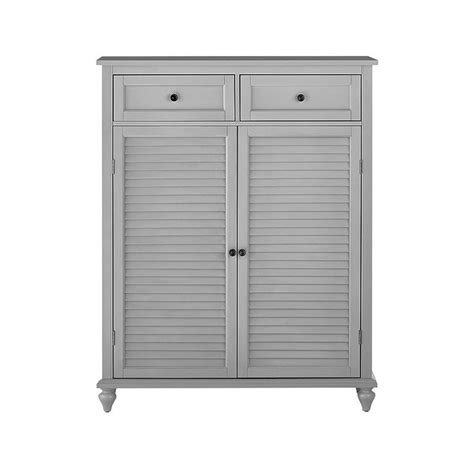 home depot shoe cabinet home decorators collection hamilton distressed grey 24