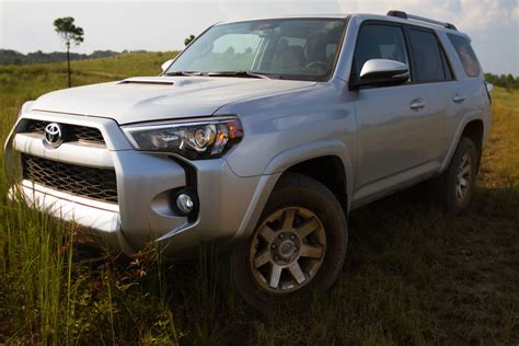 rugged suvs 2014 toyota 4runner aggressive exterior complements rugged reliability of mid size suv