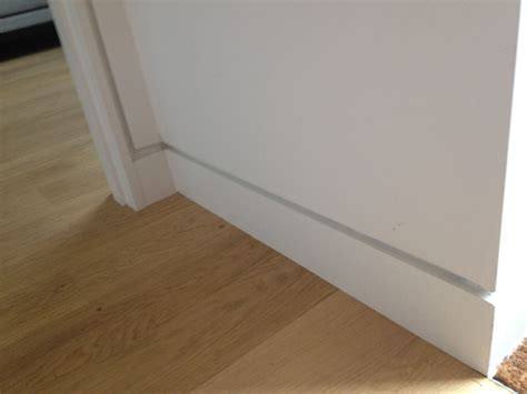 recessed baseboard baseboards styles selecting the perfect trim for your