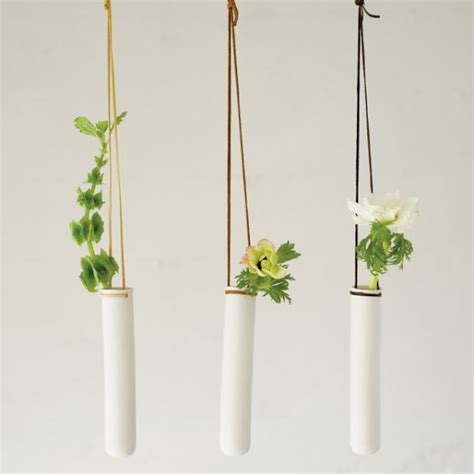 hanging planters test vase turned into modern hanging planters decoist