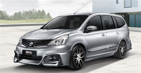 nissan grand livina nissan grand livina impul packages officially launched in