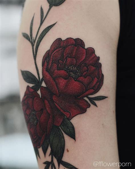 red flower tattoo designs 25 best ideas about flower tattoos on