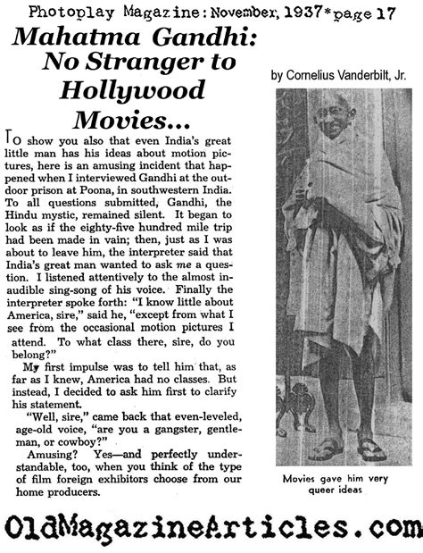 Mahatma Gandhi Biography Article | mahatma gandhi in yerovila jail 1921 favorite movie of