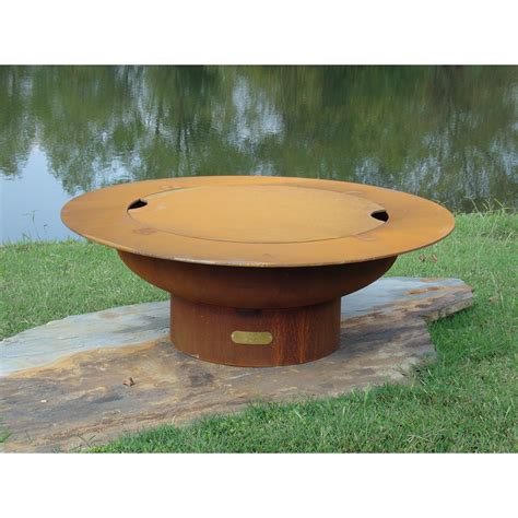 Saturn Artisan Steel Fire Pit Steel Firepits