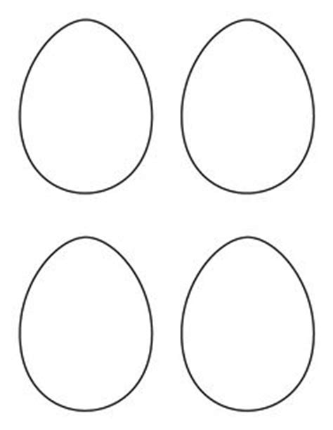 small easter egg template printable page large egg pattern use the pattern for