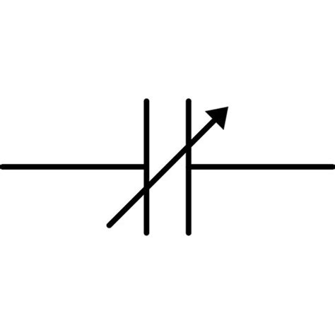 polyester capacitor symbol polyester capacitor symbol clipart best