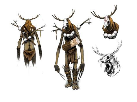witcher 3 gog goodybag leshen by scratcherpen on deviantart