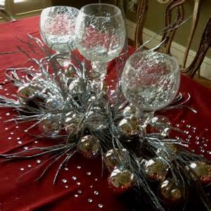 bling centerpiece ideas silver centerpiece with bling 25th anniversary
