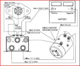 winch contactor wiring diagram get free image about