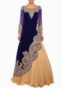 indowestern lehenga and floor length party dresses 2014