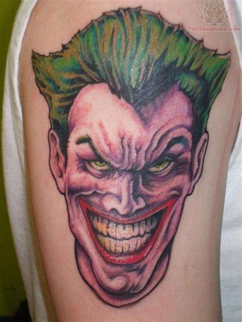 tattoo pics of the joker kurt fletcher the joker tattoo