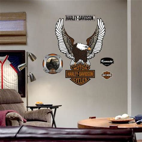 Wall Sticker Harley Davidson 02 harley davidson wall decals harley davidson trailer decals ebay with two pack harley