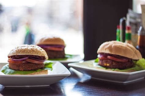 Handmade Burger Company Offers - i never expected to going vegan dining out in