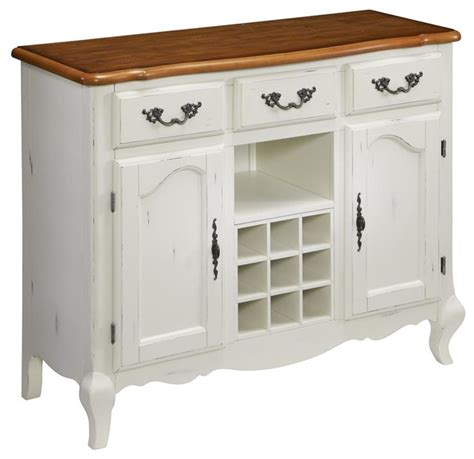Sideboards And Buffets White oak and rubbed white buffet traditional buffets and sideboards by shopladder