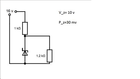 zener diode quizlet zener diode circuit formula 28 images simple voltage protection circuit high voltage cut