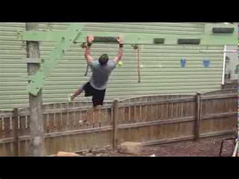 american ninja warrior backyard american ninja warrior obstacle course youtube diy