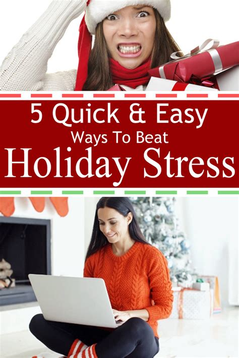 5 ways to beat stress 5 quick and easy ways to beat holiday stress christmas prep