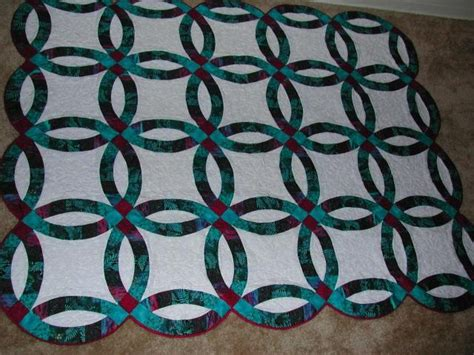 54 best double wedding ring quilts images on pinterest
