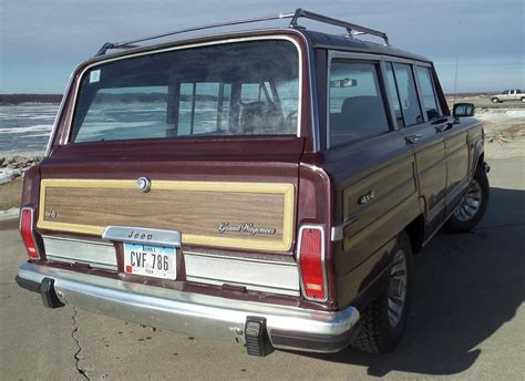 classic jeep wagoneer 1987 original jeep grand wagoneer sweet waggy a classic