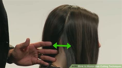divide short hair for trimming 5 ways to master hair cutting techniques wikihow