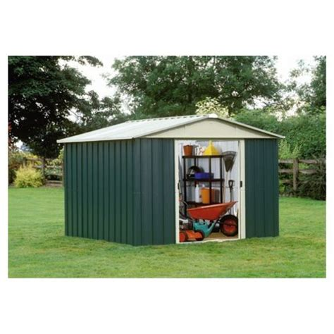 buy yardmaster apex metal shed 10x8ft from our metal