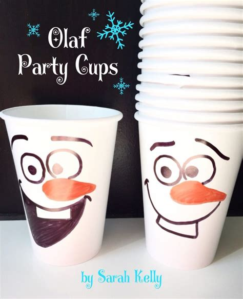 manualidades decoracion fiestas 50 originales manualidades de frozen para fiestas uma