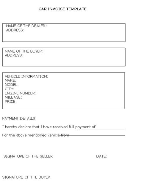 Free Used Car Sales Receipt Template Uk by Car Sale Receipt Template Uk Food Bill Template And Car