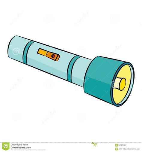 flashlight clipart flashlight icon stock vector illustration of