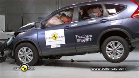 Honda Crv Crash Tests by Ncap Honda Cr V 2013 Crash Test