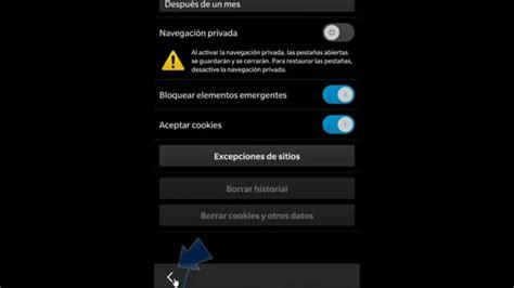 z10 tutorial youtube eliminar historial y cookies en blackberry z10 youtube
