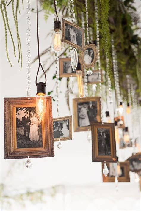 picture frame hanging ideas best 25 hanging wedding pictures ideas on pinterest