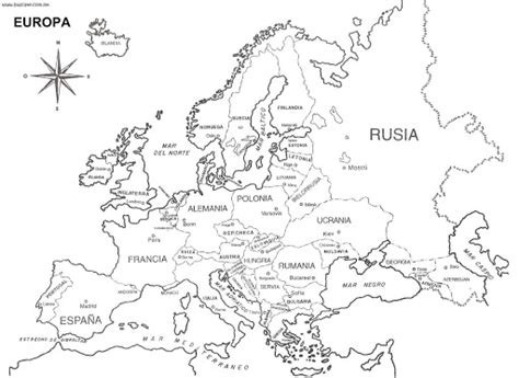 map of europe in spanish free coloring pages coloring pages
