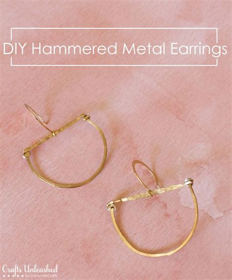 how to make your own metal jewelry we shape and diy tutorial on
