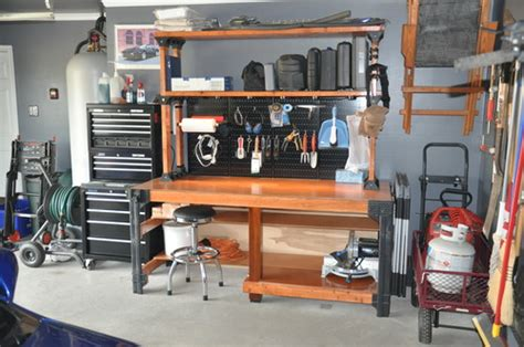 Garage Basics by 90164 2x4basics Workbench And Shelving Storage